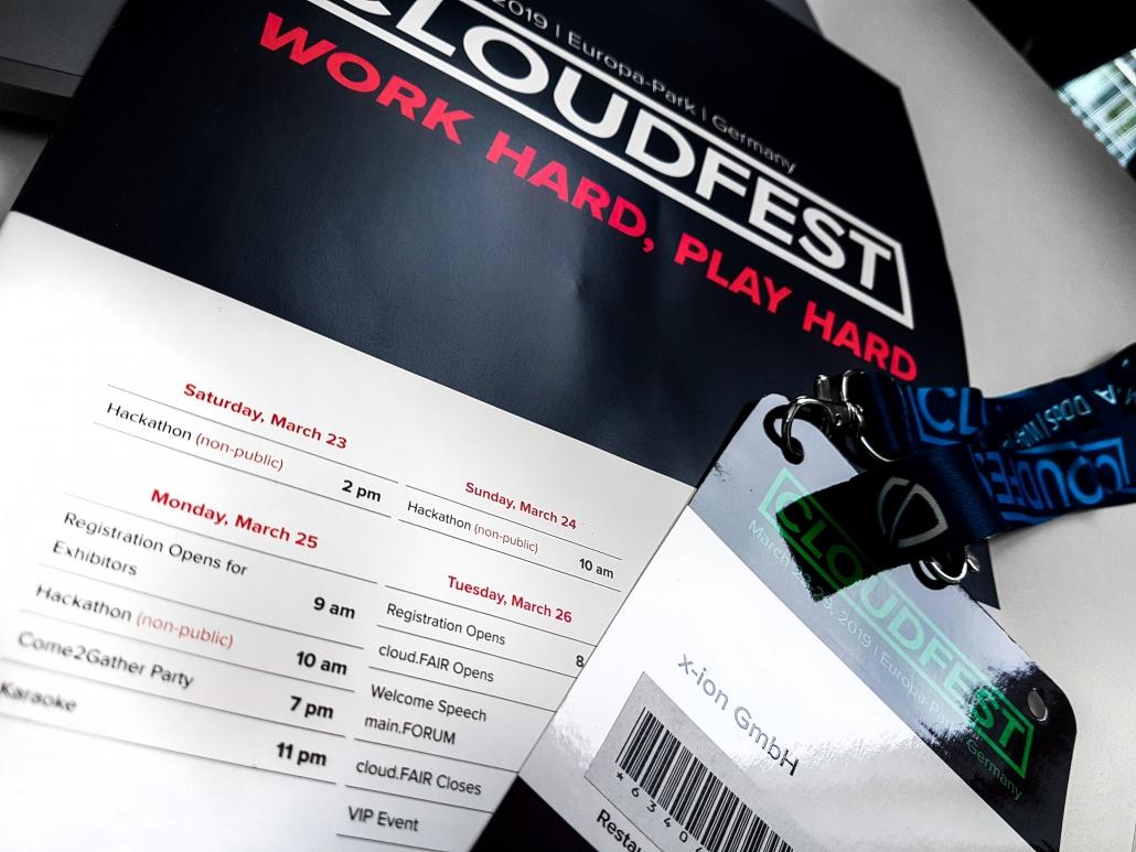 cloudfest - Programm