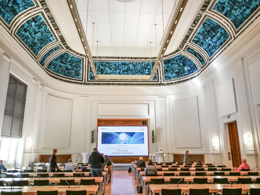 DSM Cloud Stakeholder Conference Veranstaltungsraum