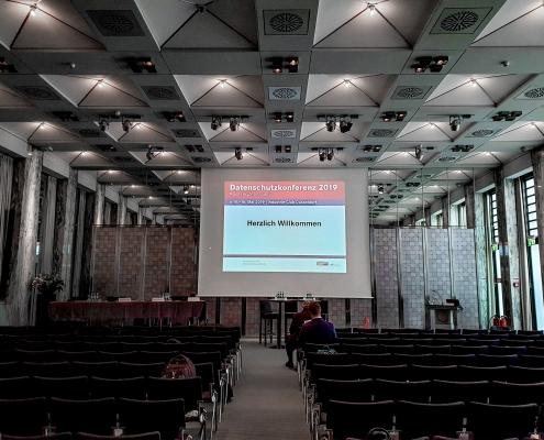 Datenschutzkonferenz 2019 - Veranstaltungsraum