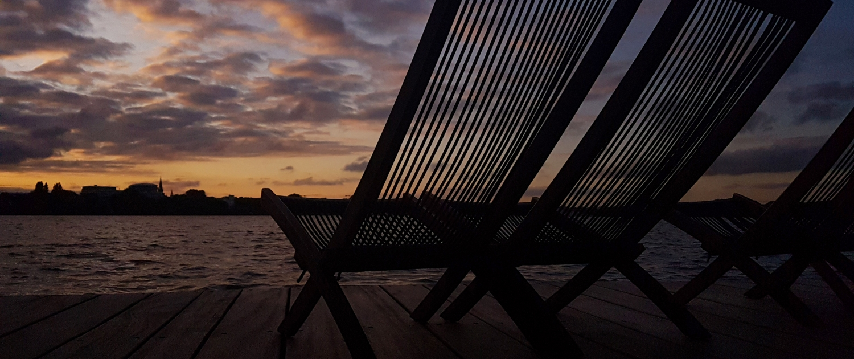 Das Barca in Abendstimmung